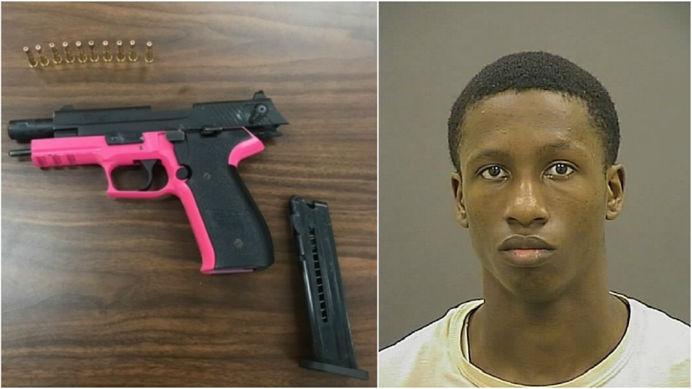 Zyshawn Bryan, 17, was arrested and charged as an adult with 1st Degree  Assault and Armed Robbery. (Photo courtesy Baltimore Police)