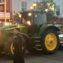Newman teens show up to prom in a tractor