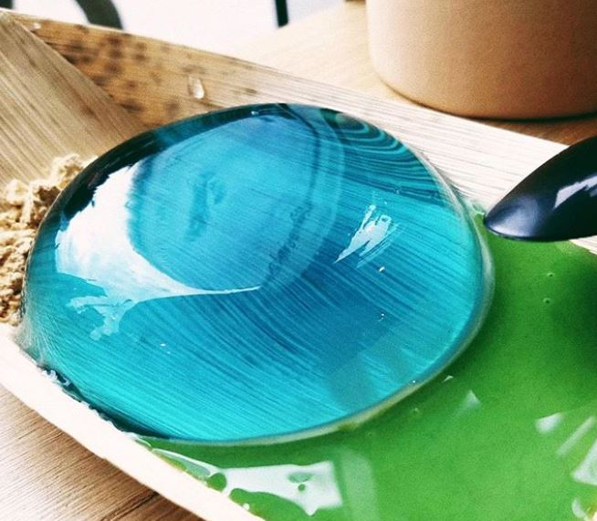 Raindrop Cake at The Moo Bar in South Lake Union (photo: The Moo Bar Instagram)