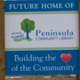 Peninsula Community Library offers naming rights to areas in new building