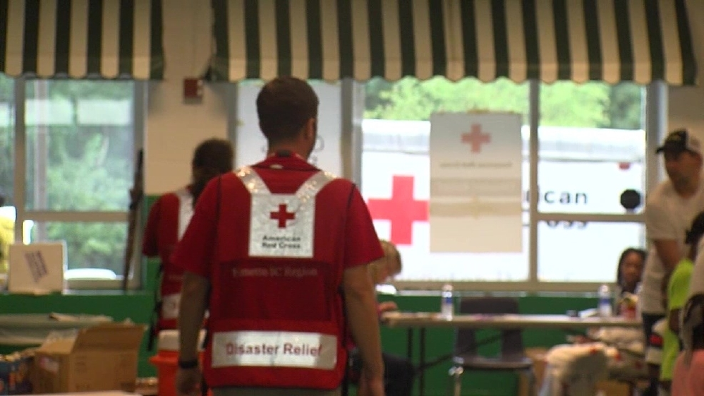 Red Cross welcomes 93 displaced people from Summerville