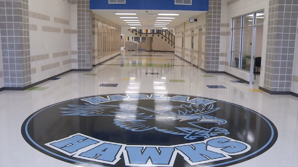 Harlan High School in the Northside Independent School District cost $110 million to build. (Photos/Video: Sinclair Broadcast Group)