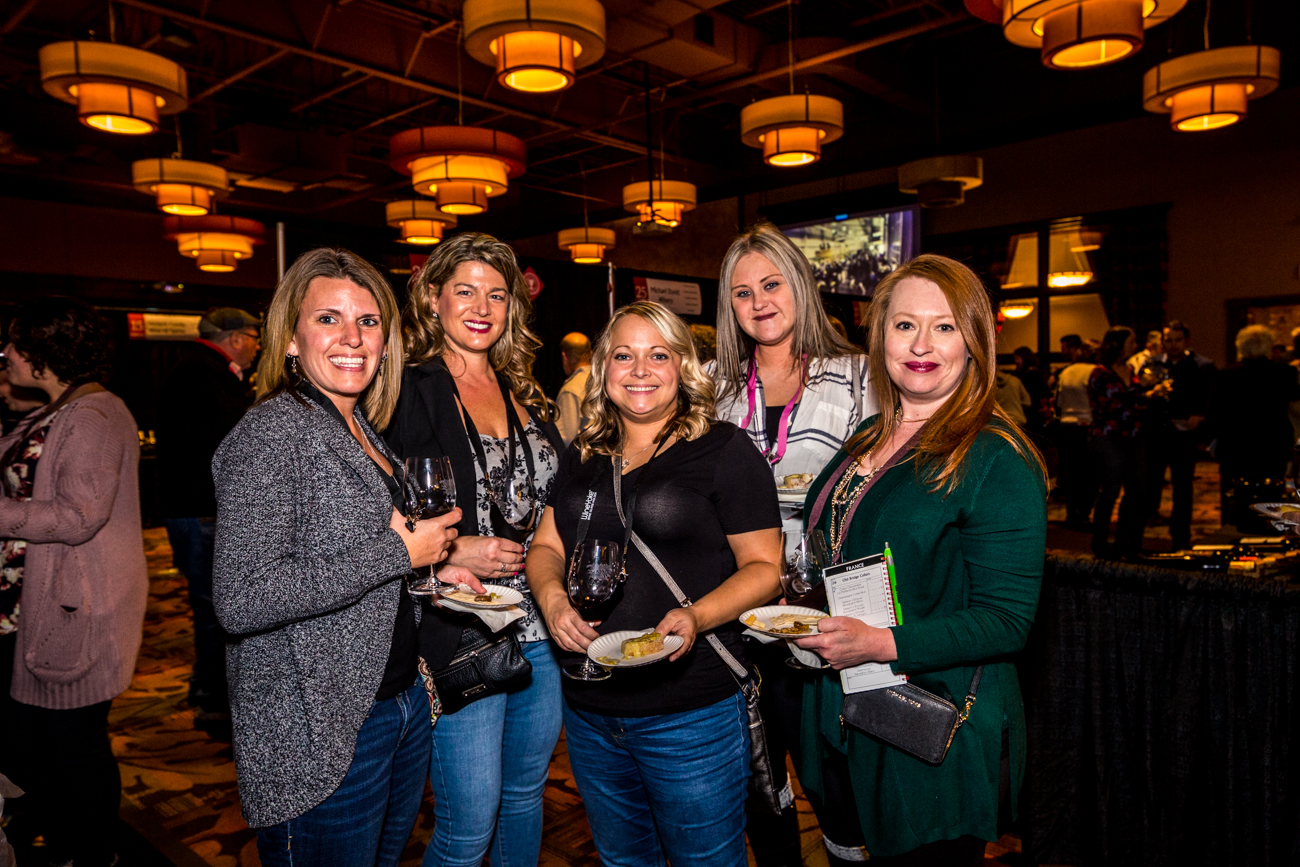 Erin Stewart, Debi Jones, Heather Karpuk, Christina Hood, and Rhonda Carter / Image: Catherine Viox{ }// Published: 11.10.19