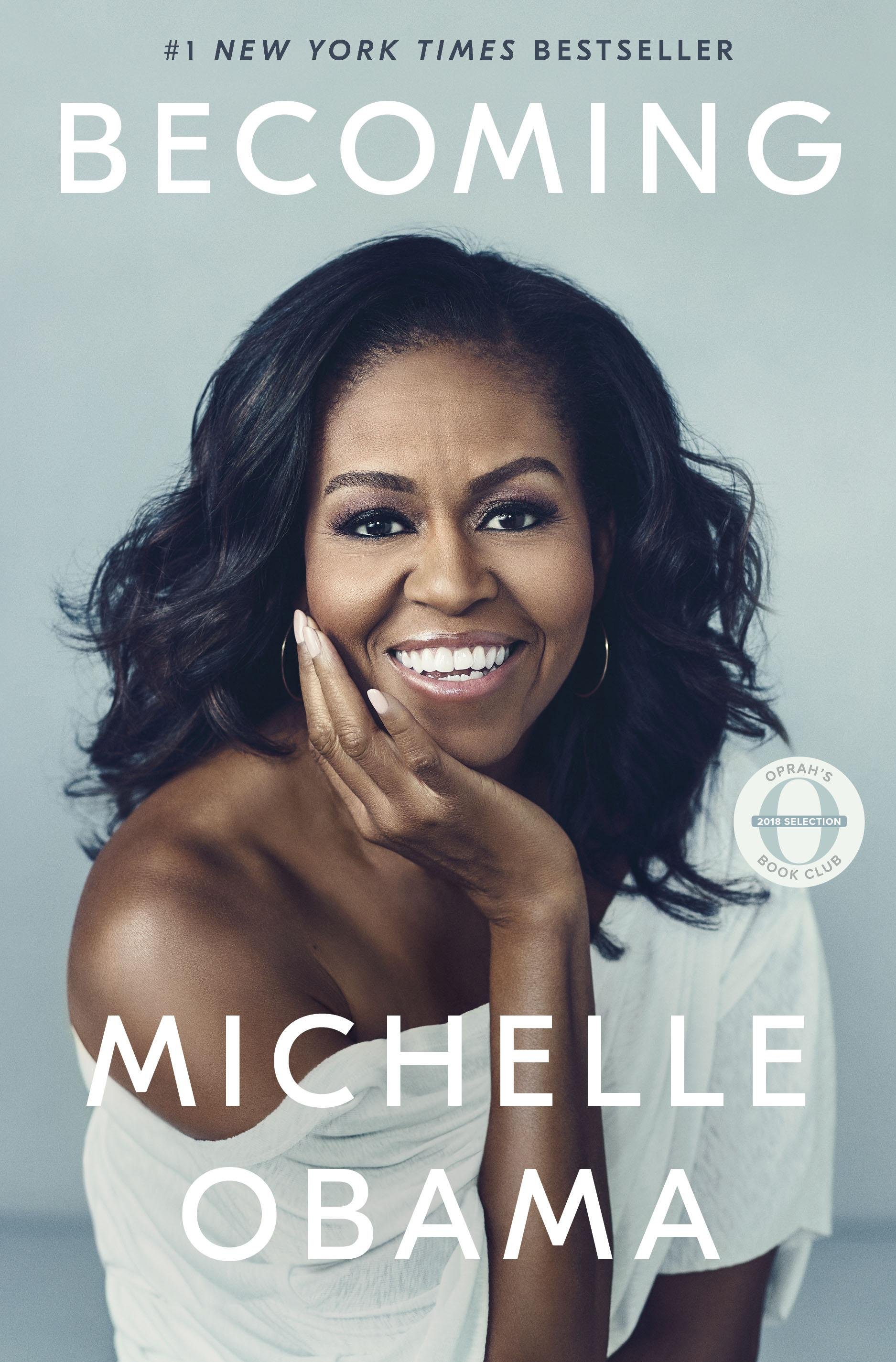 """Becoming"" by Michelle Obama (Image: Courtesy Crown Publishing Group){ }"