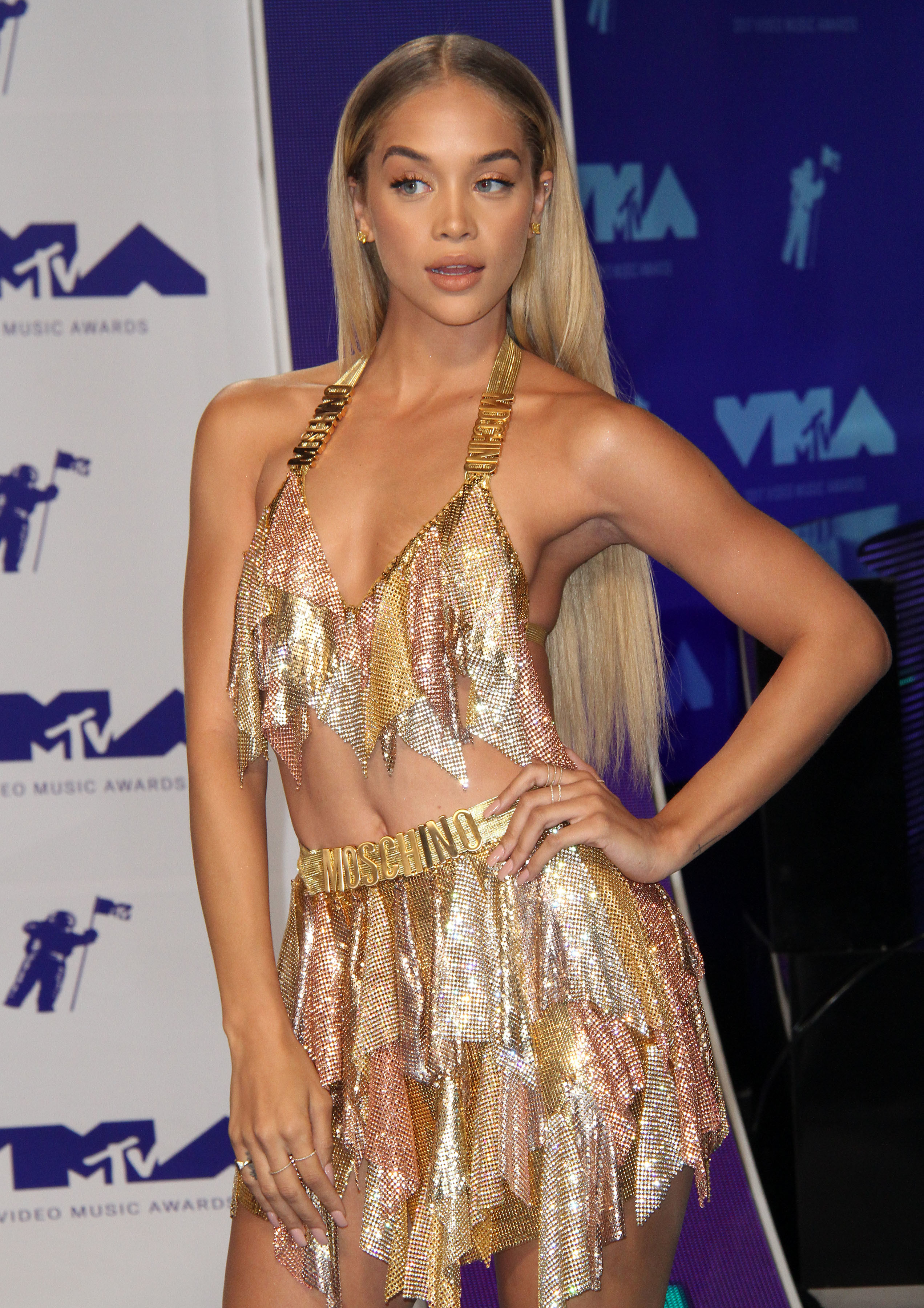 MTV Video Music Awards (VMA) 2017 Arrivals held at the Forum in Inglewood, California.                                                                      Featuring: Jasmine Sanders                                   Where: Los Angeles, California, United States                                   When: 26 Aug 2017                                   Credit: Adriana M. Barraza/WENN.com