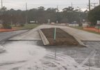 2-18-18 New roundabout in Emerald Isle 7 (Nate Belt, NewsChannel 12 photo).jpg