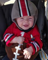 You always have to love a Buckeye Baby! Submitted by Malarie Hanson