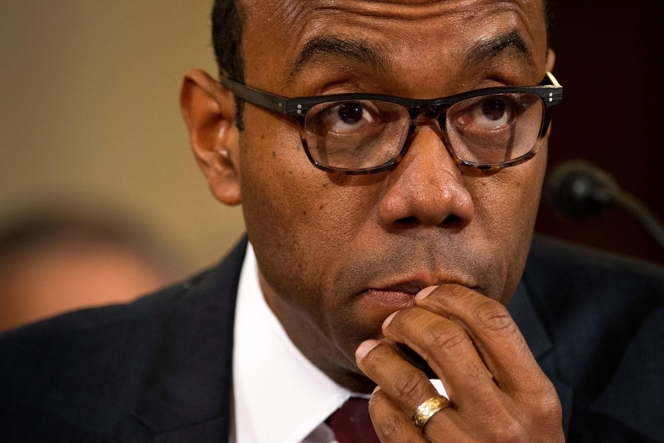NAACP President Cornell Brooks testifies on Capitol Hill in Washington, Wednesday, Jan. 11, 2017, at the second day of a confirmation hearing for Attorney General-designate, Sen. Jeff Sessions, R-Ala., before the Senate Judiciary Committee. (AP Photo/Cliff Owen)