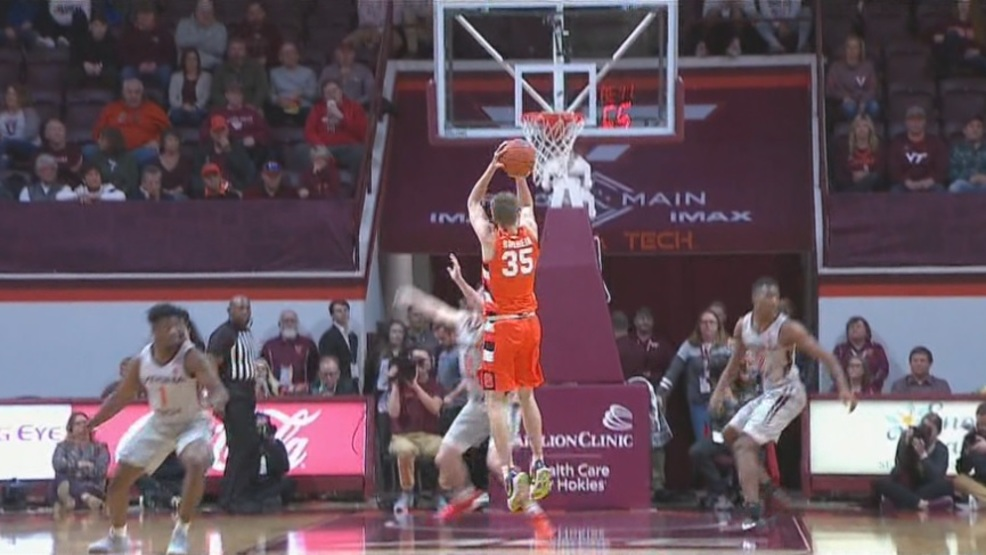Buddy Boeheim shoots the lights out, carries Syracuse to nail-biting win at Virginia Tech