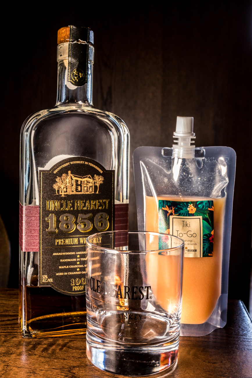 PLACE: Goose & Elder / ADDRESS: 1800 Race Street (Over-the-Rhine) / Tiki To Go: Uncle Nearest whiskey, lemon, orange, pineapple, almond, and cinnamon / Carryout available online: gooseandelder.com / Image: Catherine Viox // Published: 4.28.20