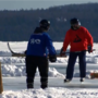 Hundreds gather in St. Ignace for annual pond hockey tournament