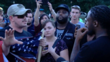 "Leftist group holds ""Solidarity with Charlottesville"" rally in Coolidge Park Thursday"