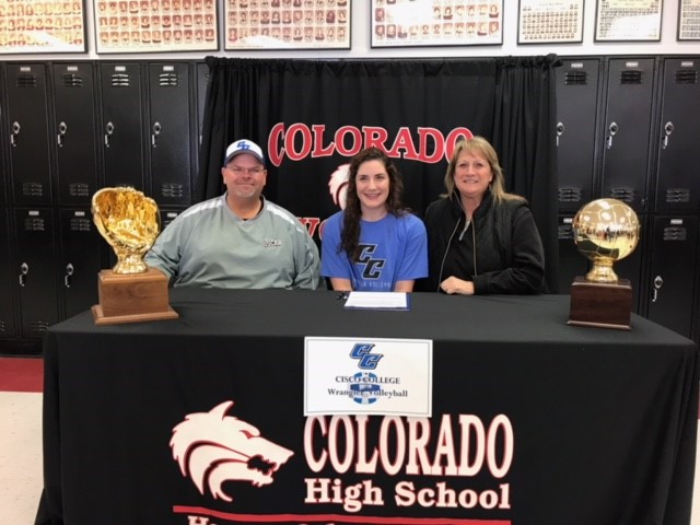 Colorado City's Taylor Epperson signed with Cisco Junior College for softball and volleyball.<p></p>