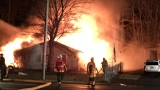 Overnight fire destroys Halfmoon Home