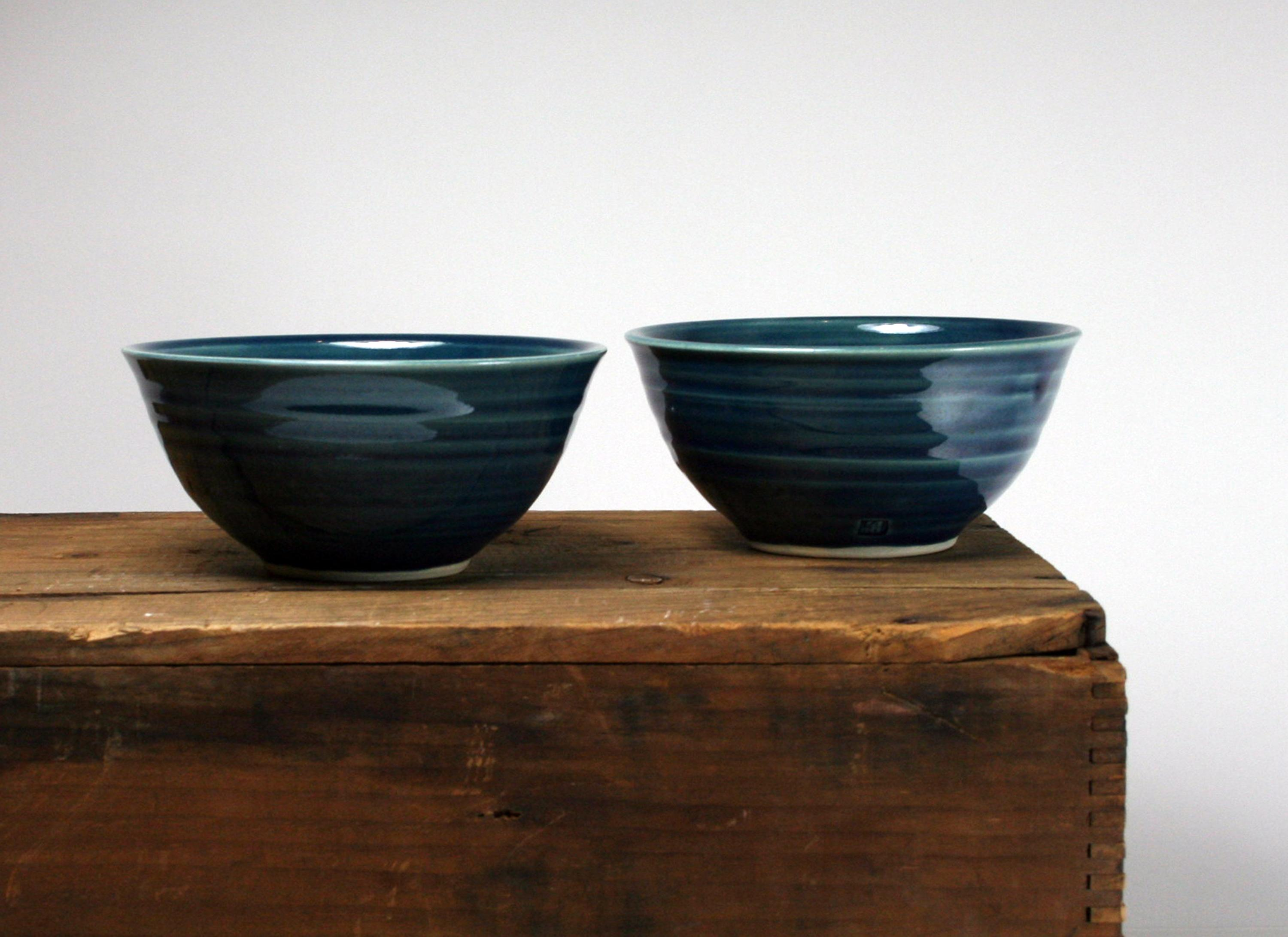 Blue Bowl by Hollow Work // Price: $32 each // Buy online // www.hollowwork.com // (Image: Hollow Work)<p></p>