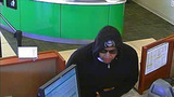 Police release surveillance images of suspect in attempted bank robbery