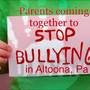 Altoona parents come together to fight bullying