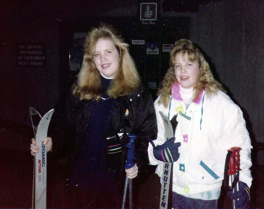 Twins Christina and Crystal -- Christina died by suicide 25 years ago (Photo: Crystal Graham).