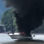 Passengers rescued from water after boat fire on Ohio River