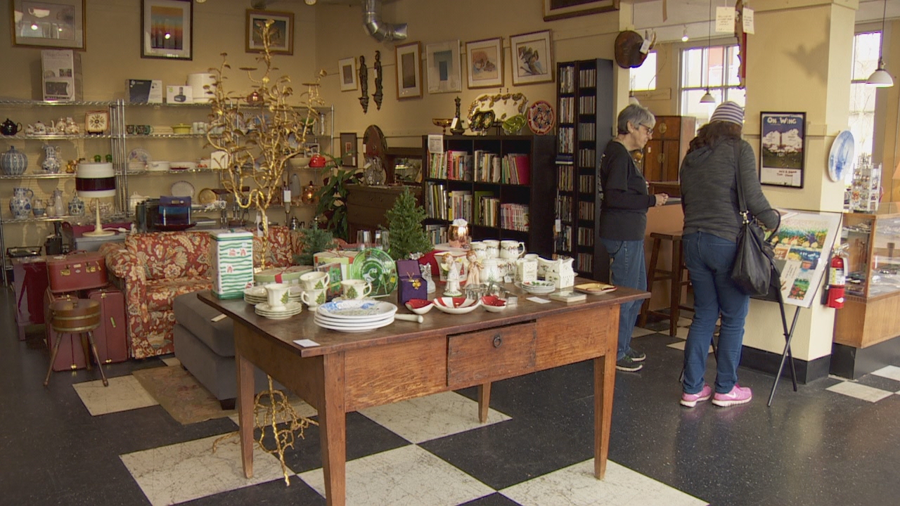 The Community Warehouse retail store provides funds for the furniture bank. (KATU)<p></p>
