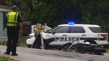 Motorcyclist injured in crash in West Asheville