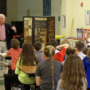Gold medal winner visits Greely Middle School