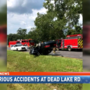 Multiple injured in 2 separate accidents in same part of Creola, 5 hours apart