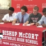 McCort sending 4 more athletes to next level