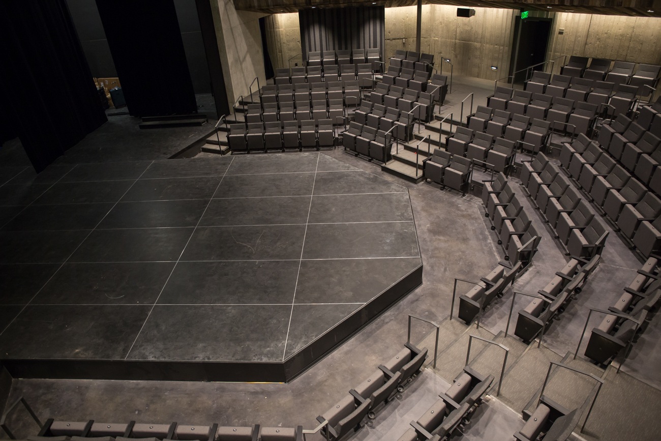 The building's main stage is unique due to its proximity to the patron's seats; everyone there to see a show will be no more than 20 feet from the actors. / Image courtesy of Cincinnati Shakespeare Company  // Published: 9.7.17