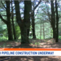 Property owner fights natural gas pipeline