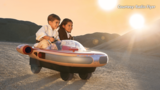 Your kids can now zoom around in a kid-sized version of Luke Skywalker's Landspeeder