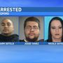Police: 3 people arrested following month long drug trafficking investigation